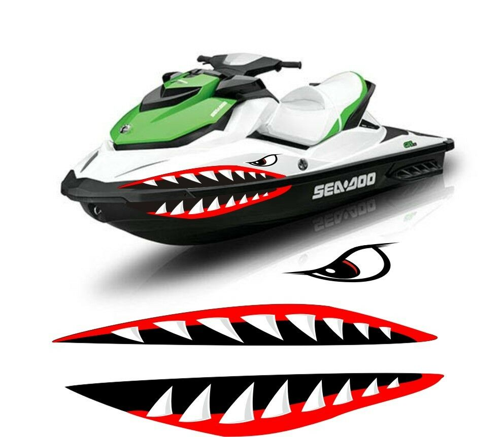 SEA DOO YAMAHA KAWASAKI honda polaris JET SKI 2 3 PWC teeth MOUTH ...