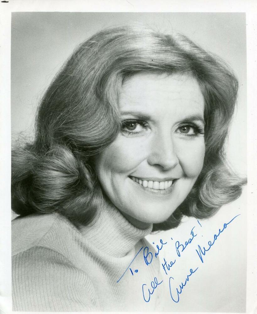 ANNE MEARA OF STILLER & MEARA COMIC ACTRESS SIGNED PHOTO