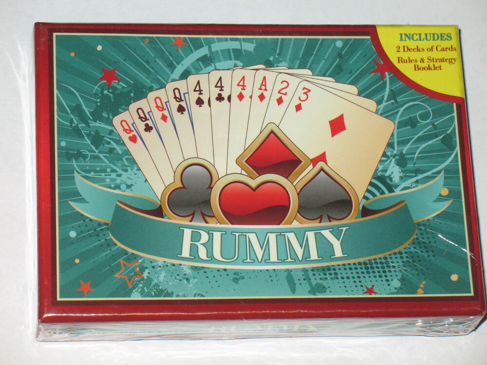 how to play rummy with 2 decks