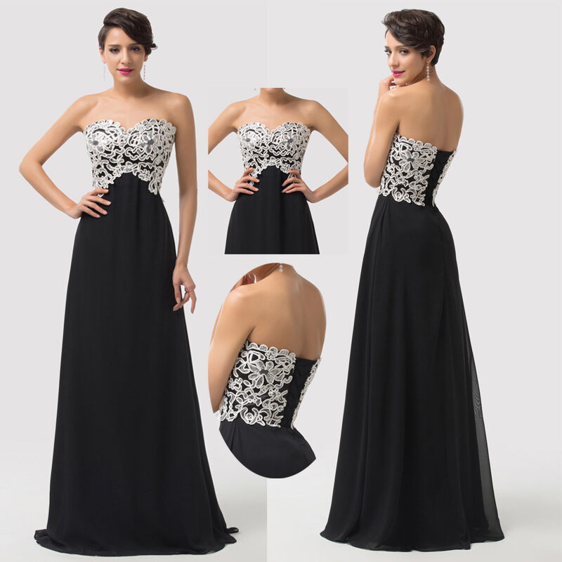 Maternity long plus size applique prom evening party ball for Plus size maternity wedding dresses