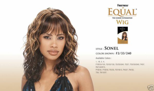 SONEL - FREETRESS EQUAL SYNTHETIC FULL WIG LONG WAVY WIG