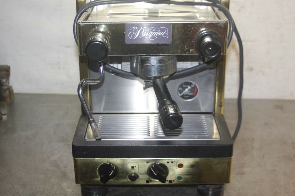 pasquini junior d la cimbali espresso maker expresso coffee maker ebay. Black Bedroom Furniture Sets. Home Design Ideas