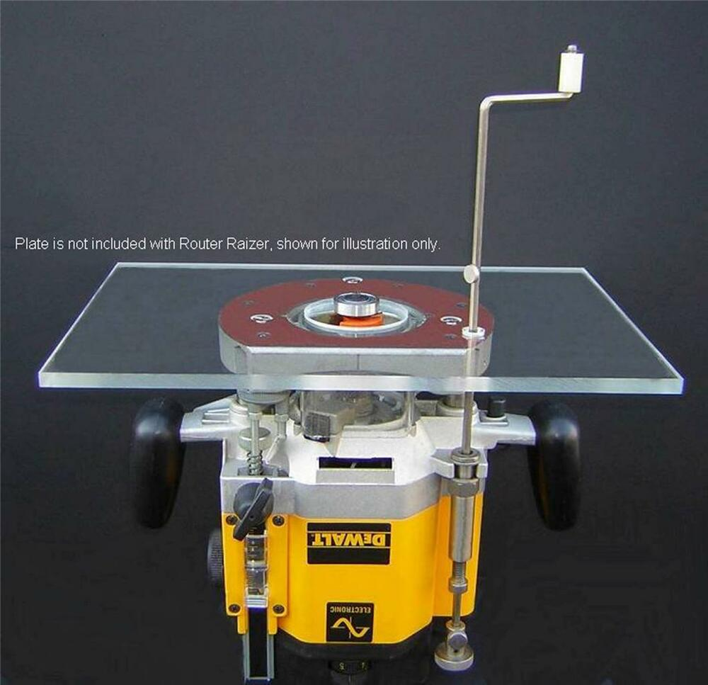 Router table ebay router lift router table height adjustment raiser raizer plunge porter cable keyboard keysfo Images