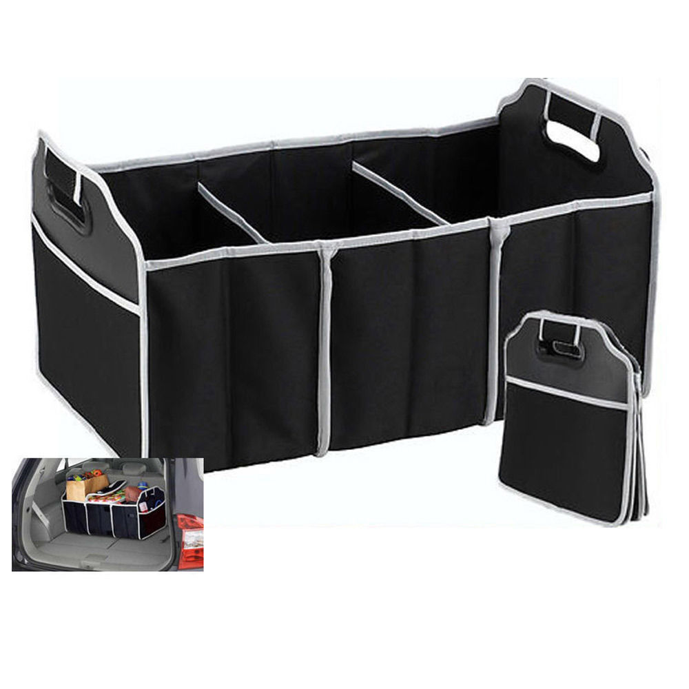 Trunk Organizer Collapsible Folding Caddy Car Truck Auto