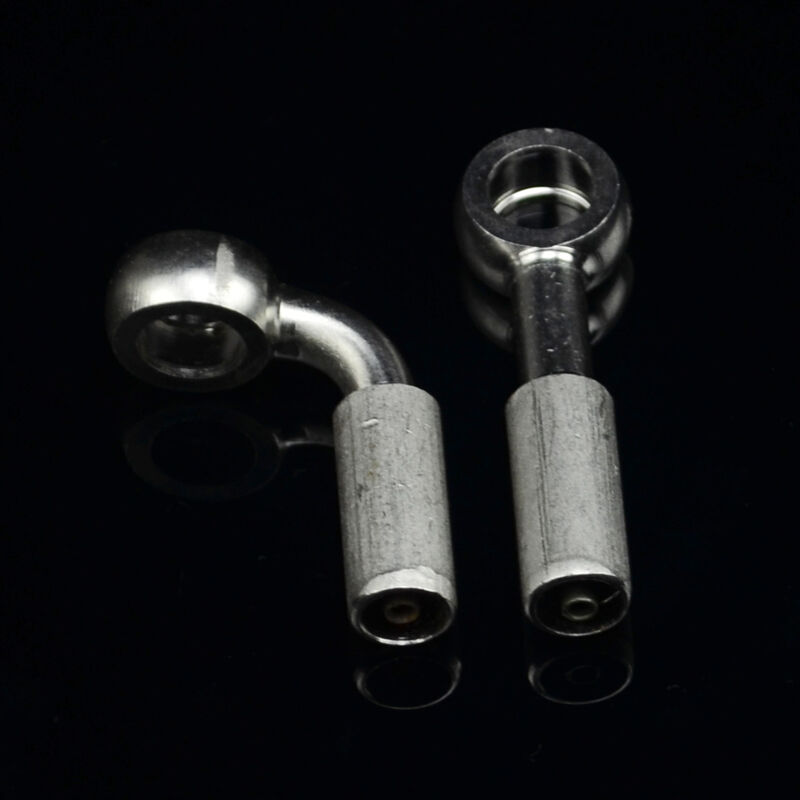 Stainless Brake Line Fittings : M stainless steel banjo fitting for braided brake clutch