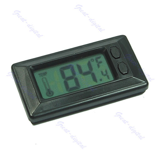 new car vehicle digital lcd thermometer temperature meter. Black Bedroom Furniture Sets. Home Design Ideas