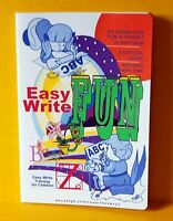 "EASYWRITE ""FUN ALPHABET"" School Exercise / Practice Book ""TOP QUALITY"""