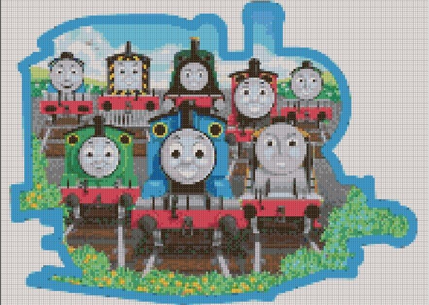 Thomas The Train Christmas Crafts