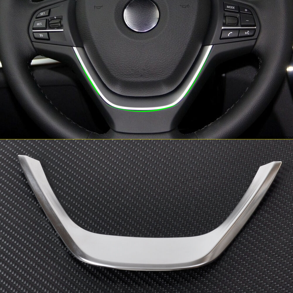 Hotsale Interior Chrome Steering Wheel Cover Trim For BMW