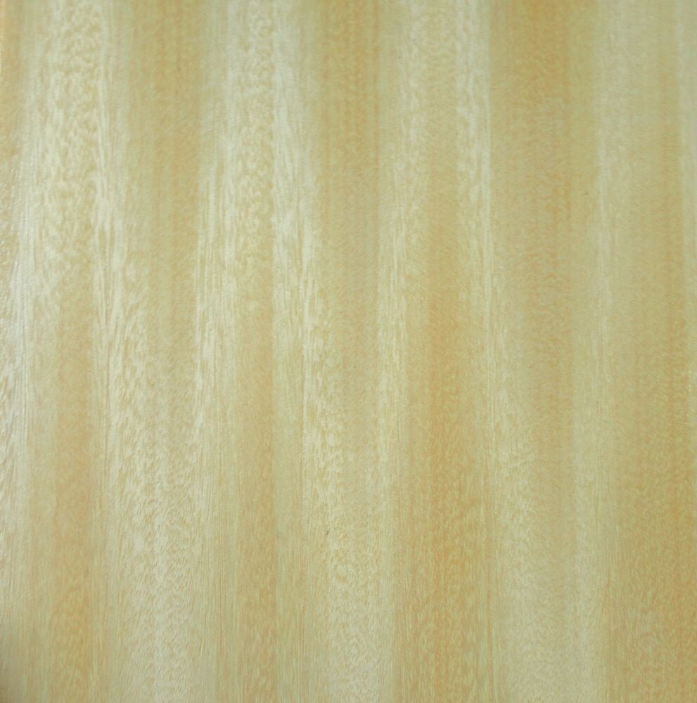 Avodire Ribbon Prefinished Wood Veneer Panel 9 X 9 X 9