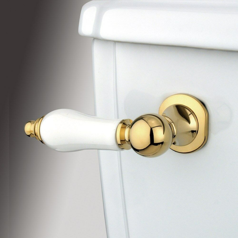 Kingston Brass Polished Brass Victorian Toilet Tank Flush