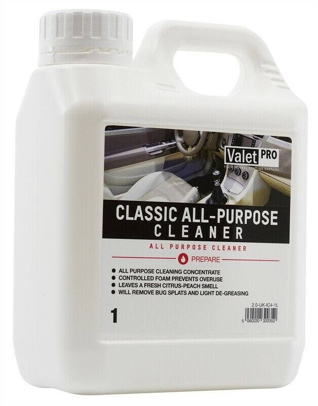 valetpro classic interior all purpose cleaner 1l free valetpro air freshener ebay. Black Bedroom Furniture Sets. Home Design Ideas