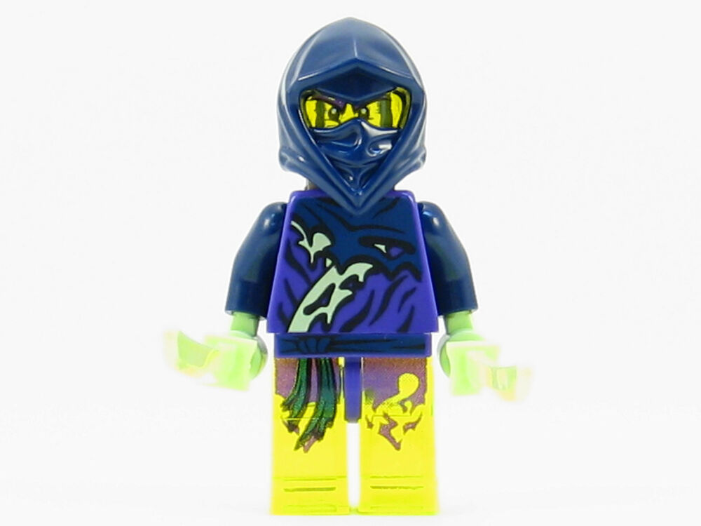 Lego ninjago yokai ghost ninja warrior minifigure with swords new 2015 70736 ebay - Ninja ninjago ...