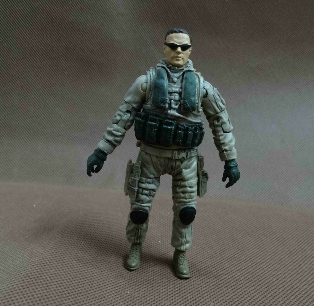 Military Toys Elite Force 1 18 : Bbi elite force action figure chief maritime special