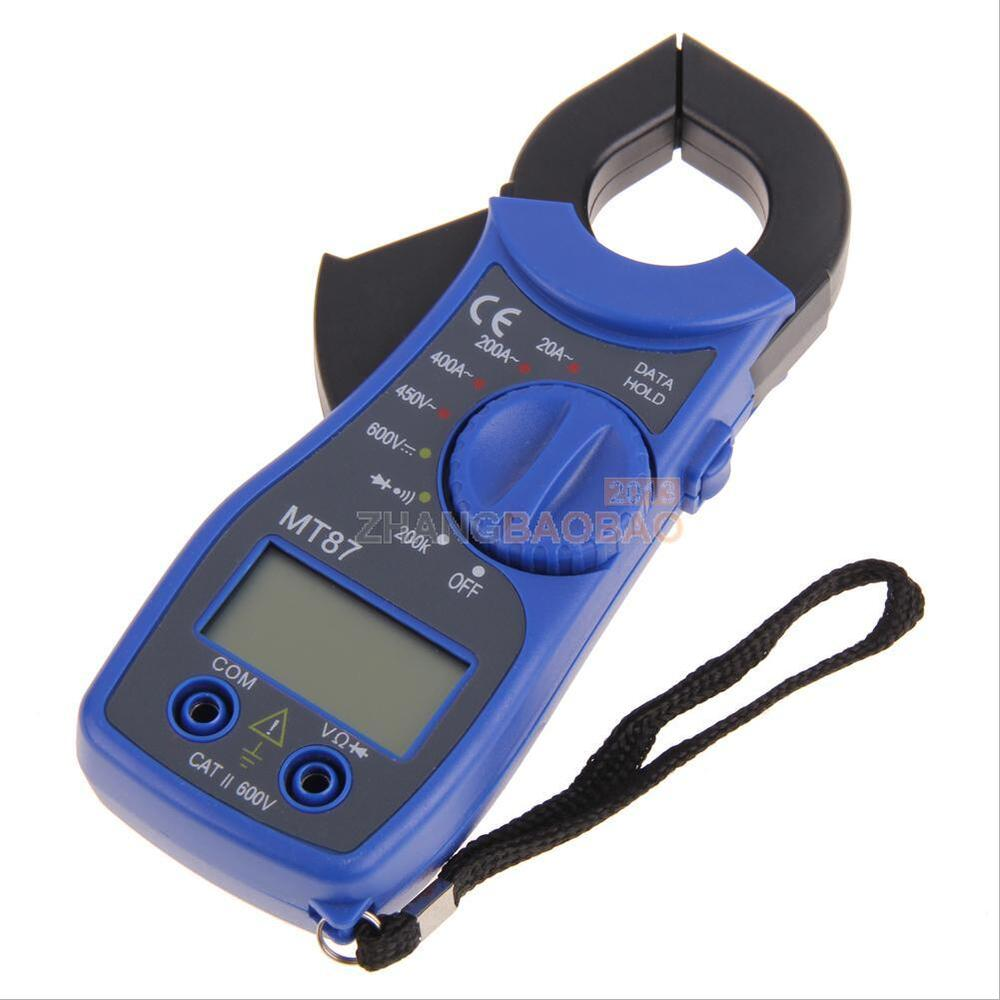 Dc Voltage Tester : Portable lcd digital ohm clamp ampere ac dc voltage