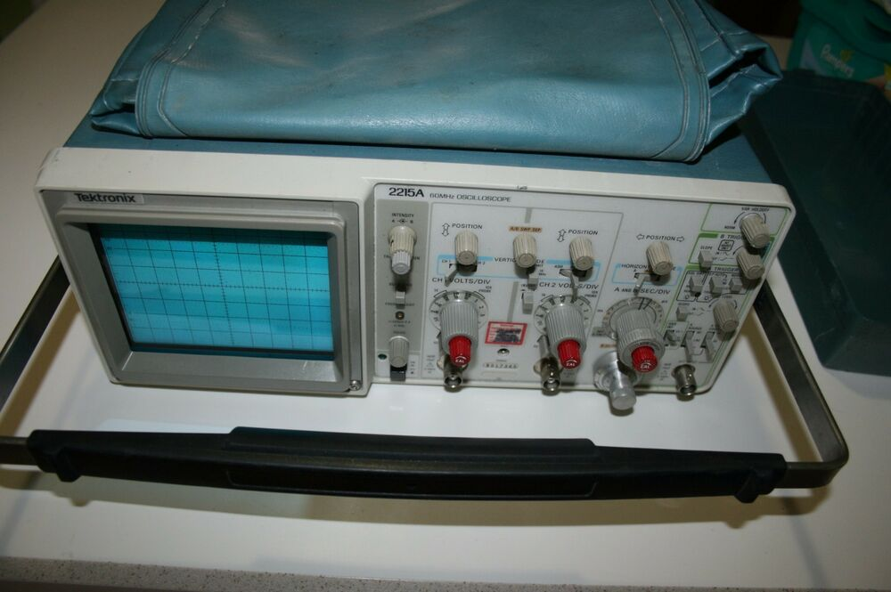 Tektronix Analog Oscilloscope : Used tested tektronix a mhz analog oscilloscope lot