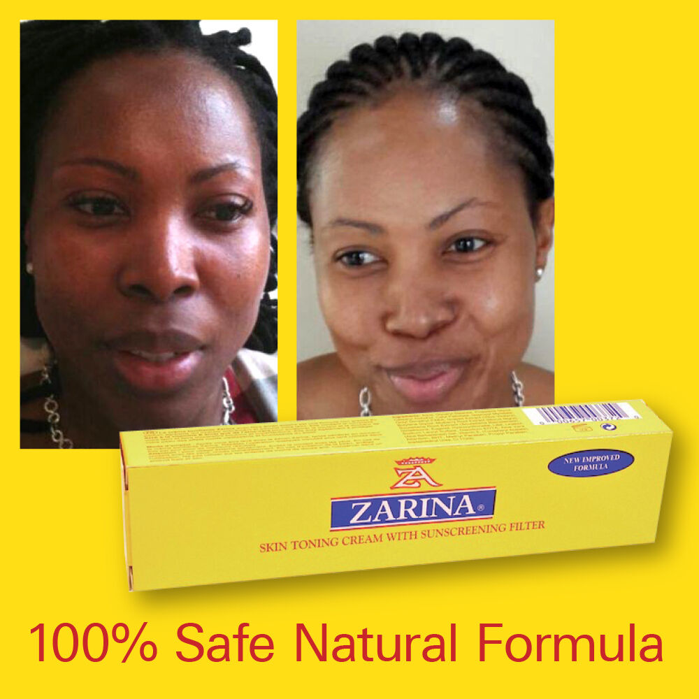 Original Zarina Cream Skin Fade Evens Tone And