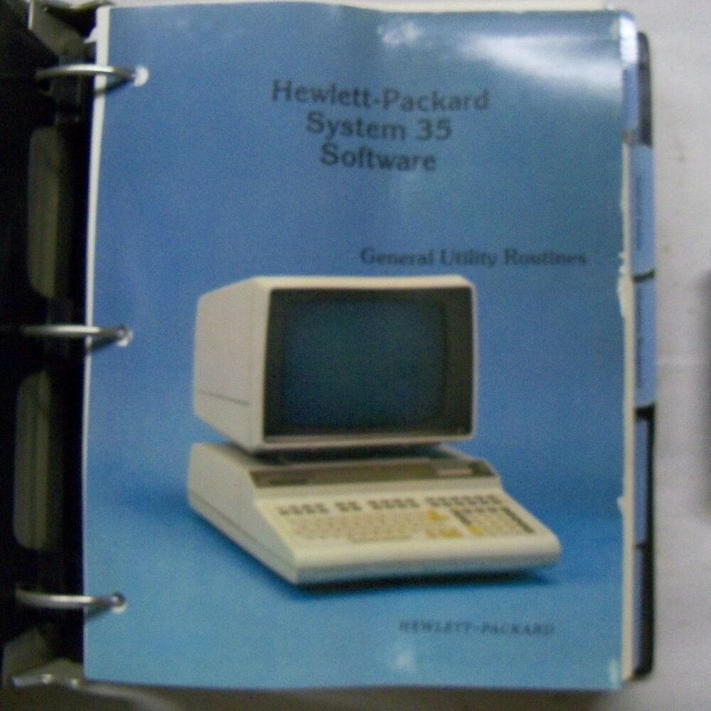 HEWLETT PACKARD MODEL 6490A TAPE CONTROL AND DRIVE SERVICE ...
