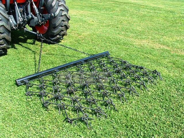 Landscape Rake Or Harrow : V drag chain harrow landscape lawn arena atv rake