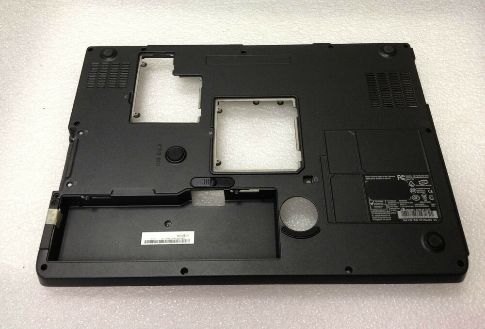 new dell inspiron 9400 e1705 laptop bottom base case assembly mh740 ebay. Black Bedroom Furniture Sets. Home Design Ideas