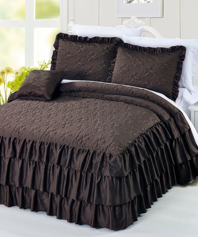 Overstock uses cookies to ensure you get the best experience on our site. Eddie Bauer Kingston Charcoal Cotton and Flannel Reverse Comforter Set. 91 Reviews. Buyer's Pick. Quick View. Sale $ 49 - $ Serenta Quilted Satin 4-piece Bedspread Set. Reviews. More Options.