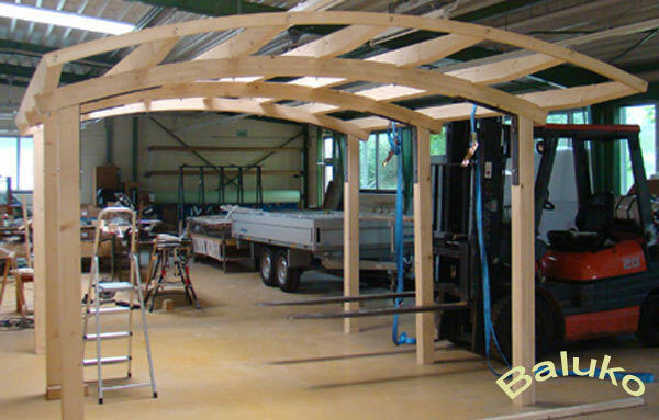 carport bausatz carport holz bogencarport terrassen berdachung leimholzbogen ebay. Black Bedroom Furniture Sets. Home Design Ideas