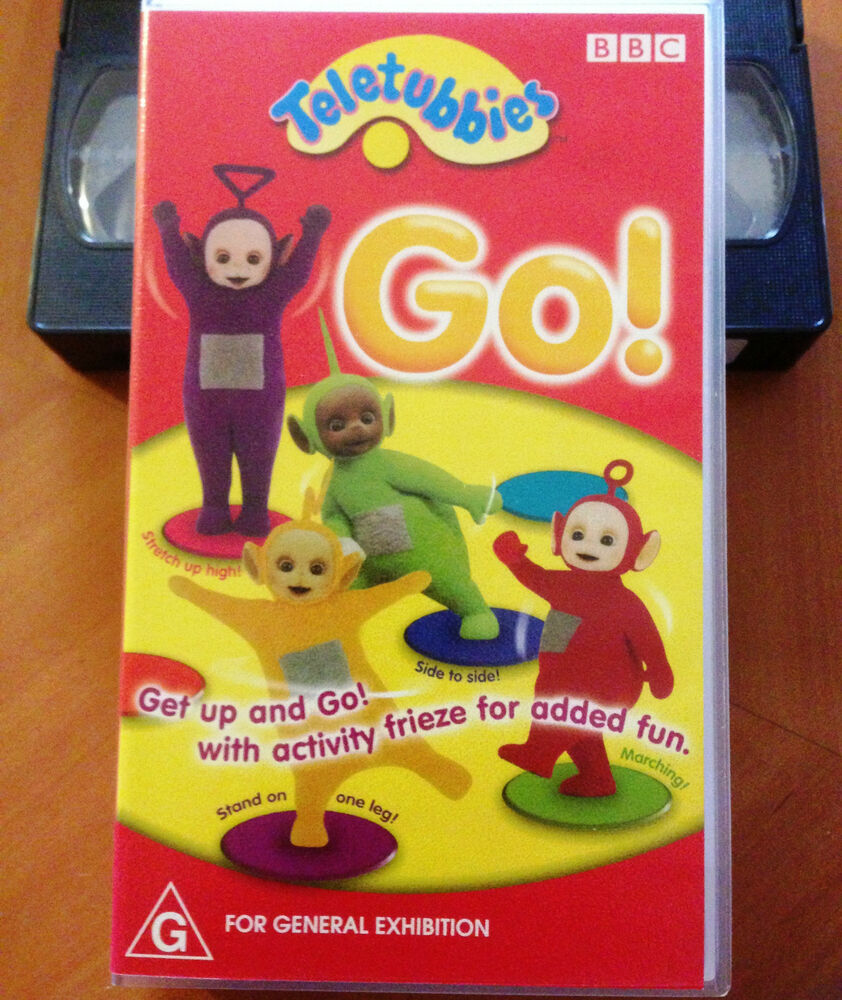 TELETUBBIES - GO - VHS