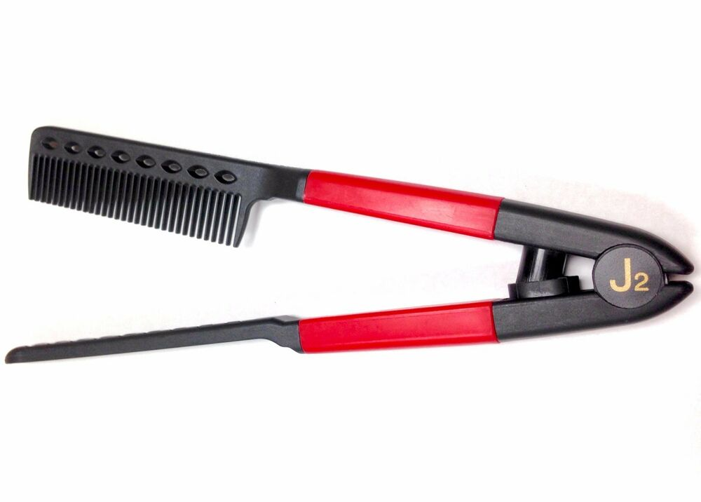 Professional Hair Styling Tools: J2 Hair Tool Professional Use Straightening Comb Use With
