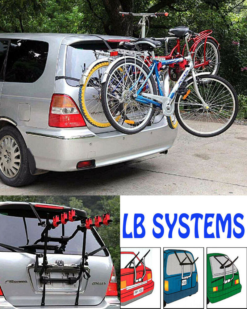 2 Bicycle Carrier Car Rack Bike Cycle Universal Fits Most