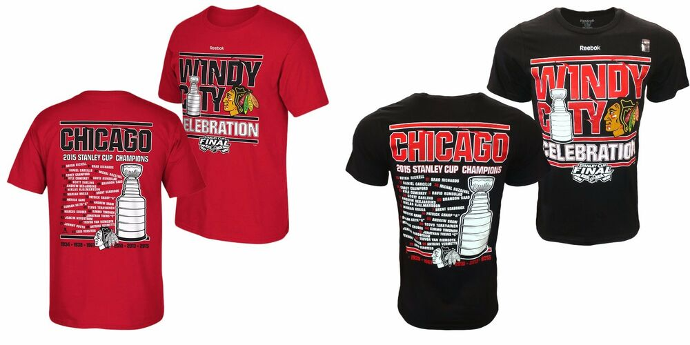 Chicago Blackhawks 2015 Stanley Cup Champions Windy City