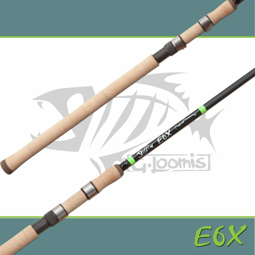 G Loomis E6X Steelhead Drift Spinning Rod 1145-2S 9'6 ...