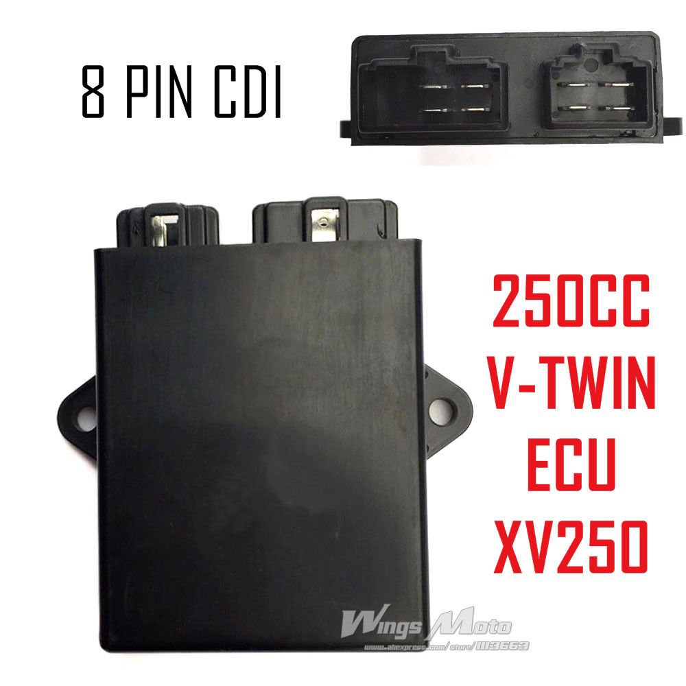 s l1000 2uj ecu cdi for yamaha xv250 virago lifan keeway 250 v twin rhino  at gsmportal.co
