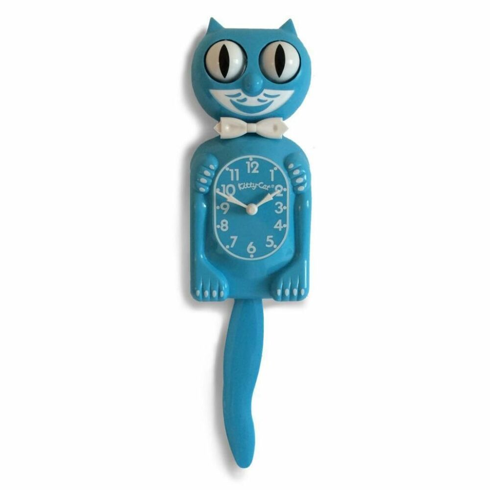 Kitty Cat Clock Uk