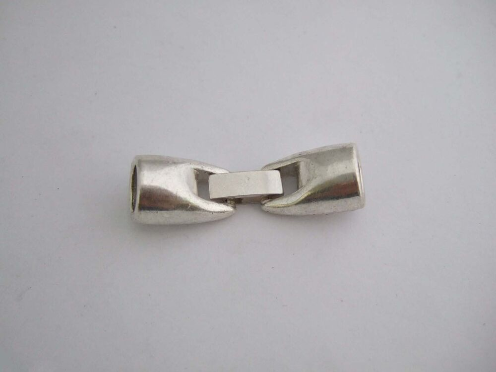 bracelet clasps for leather 3 5 sets antique silver snap clasps for 8mm leather 4028
