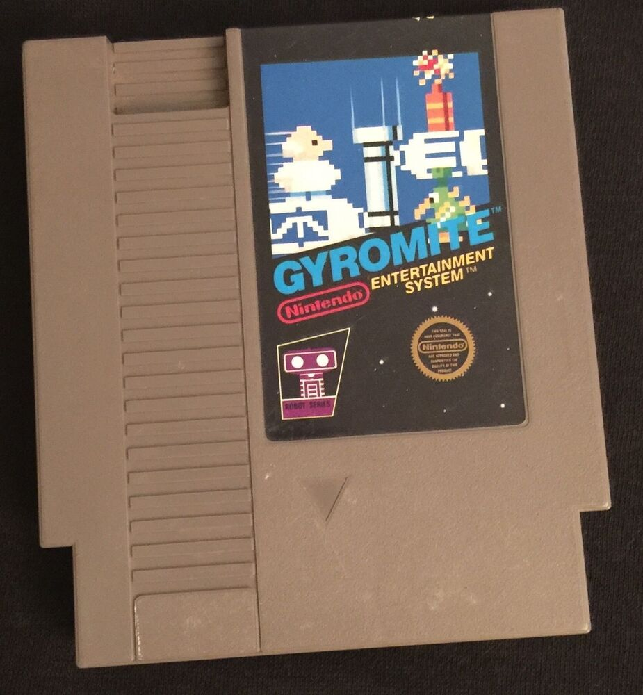 Console Nintendo 1985: Gyromite (Nintendo, 1985) NES GAME ! Free Shipping ! 5
