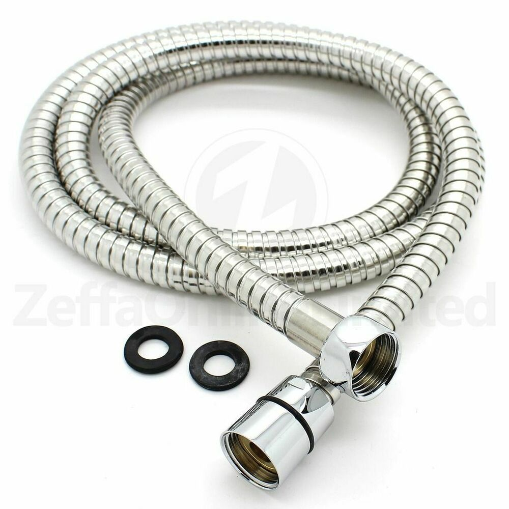universal stainless steel shower hose replaces mira. Black Bedroom Furniture Sets. Home Design Ideas