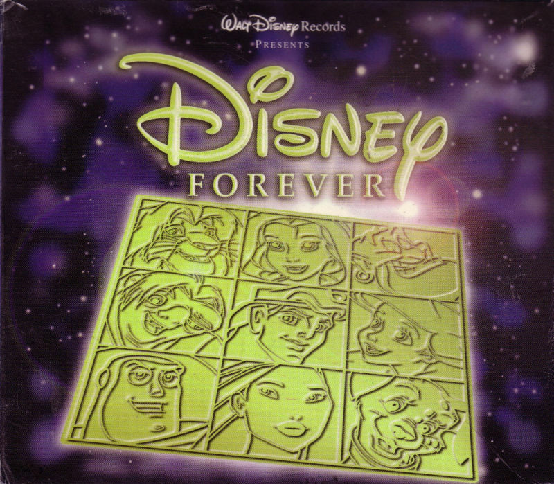 disney forever 3 cd collectors box songbook rare oop lion