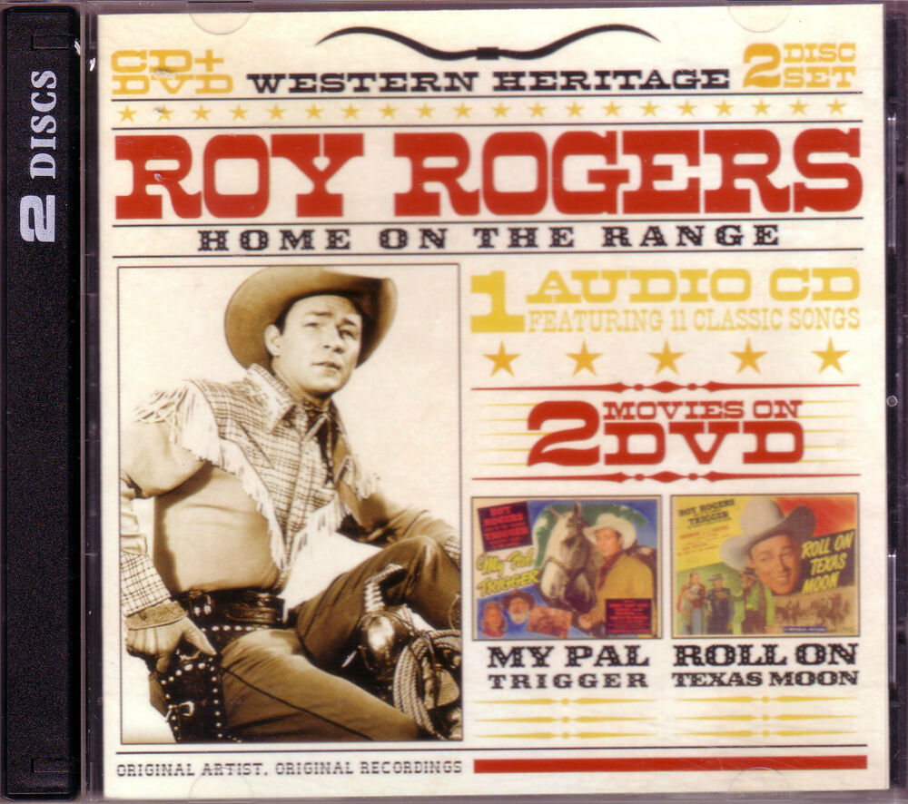 roy rogers home on range cd dvd classic 40s country my pal trigger roll on texas ebay. Black Bedroom Furniture Sets. Home Design Ideas