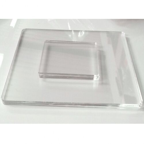 Clear Acrylic Square Shaped Placemats Amp Coasters Set Of 4