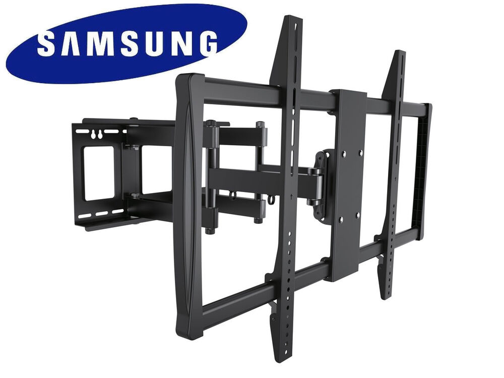 full motion tv wall mount 60 65 70 75 80 90 100 inch samsung lcd led plasma hdtv ebay. Black Bedroom Furniture Sets. Home Design Ideas