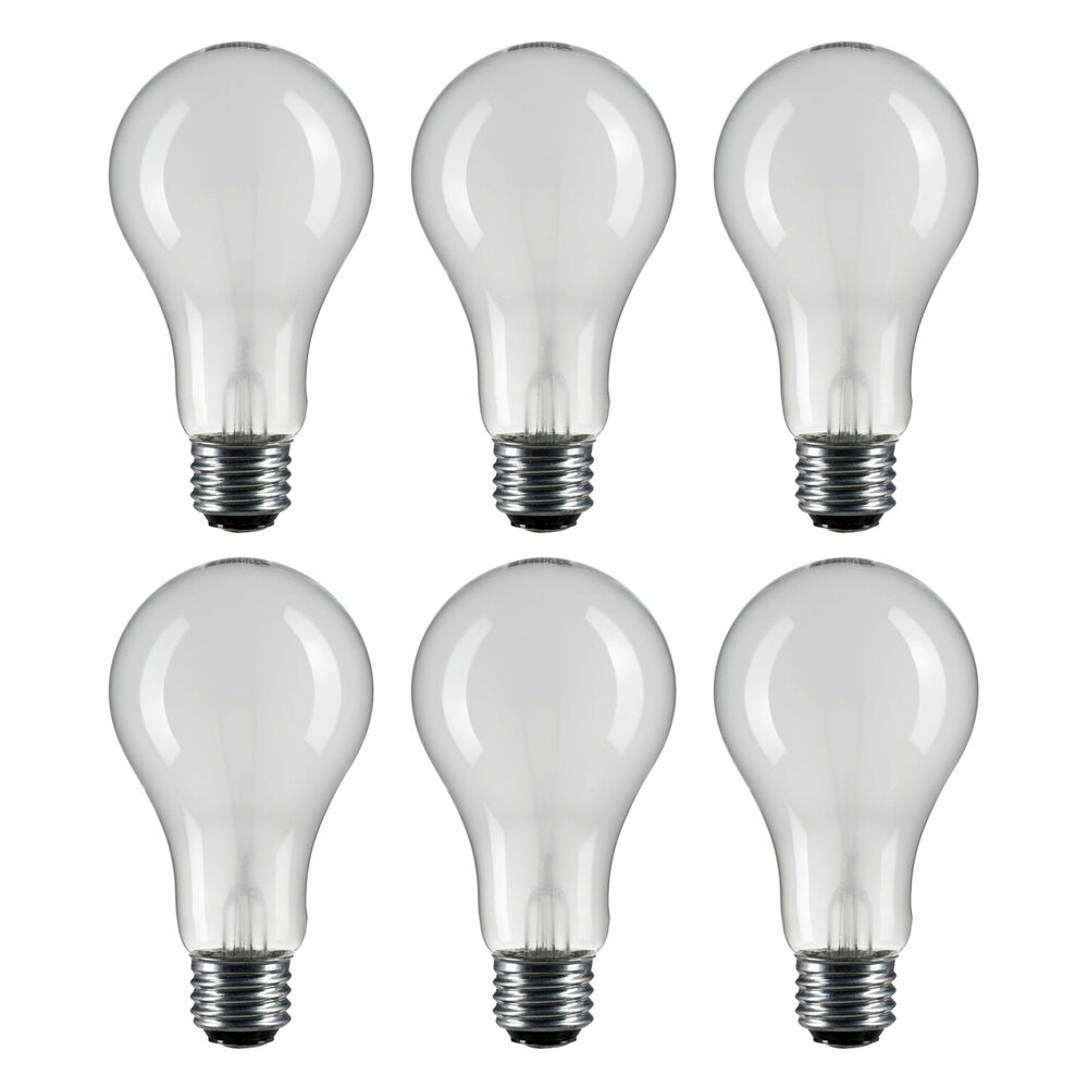 6 of e26 base 3 way 50 100 150 watt incandescent light bulb lamp ebay 3 way light bulbs