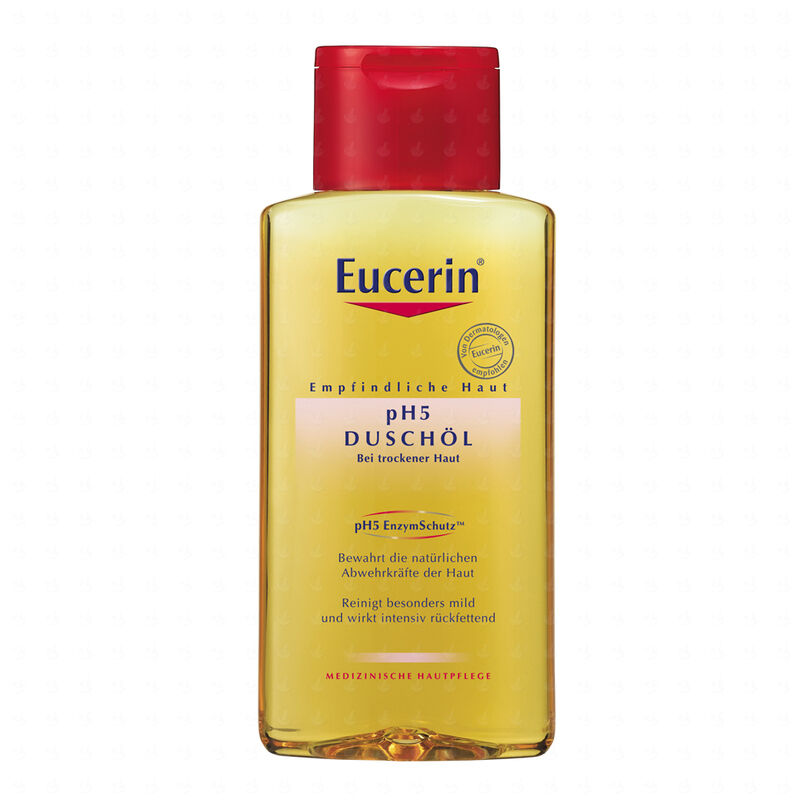 eucerin ph5 shower oil 200ml for sensitive dry body skin ebay. Black Bedroom Furniture Sets. Home Design Ideas