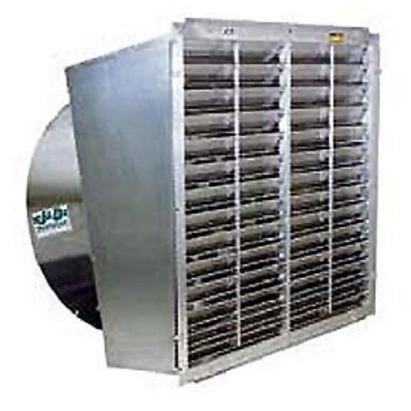 Direct Drive Exhaust Fan : New quot typhoon exhaust fan slant wall direct drive with