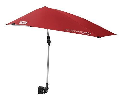 Umbrella Clamp Sun Shade Canopy Foldable Beach Cart Golf