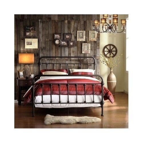 King Size Wrought Iron Bed India