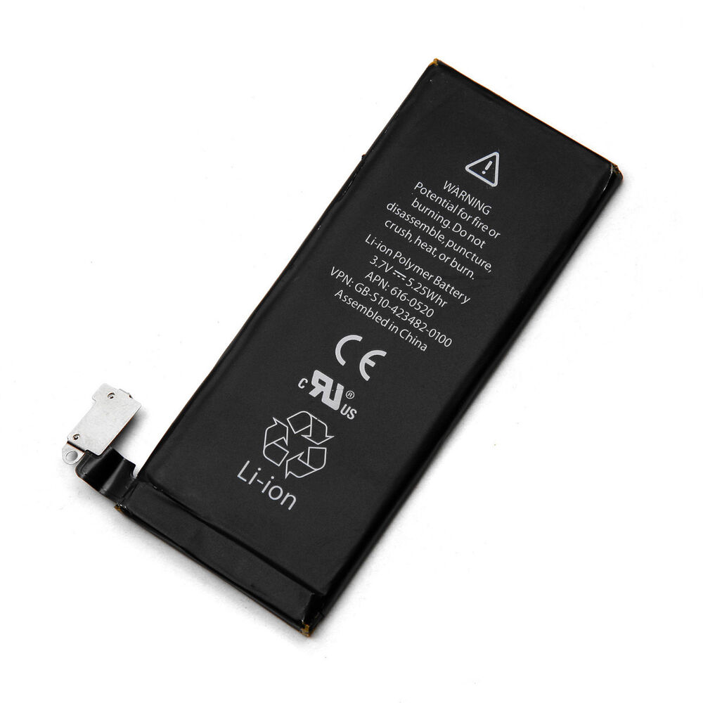 new iphone battery new 1430mah replacement 3 7v li ion battery for iphone 4 4g ebay