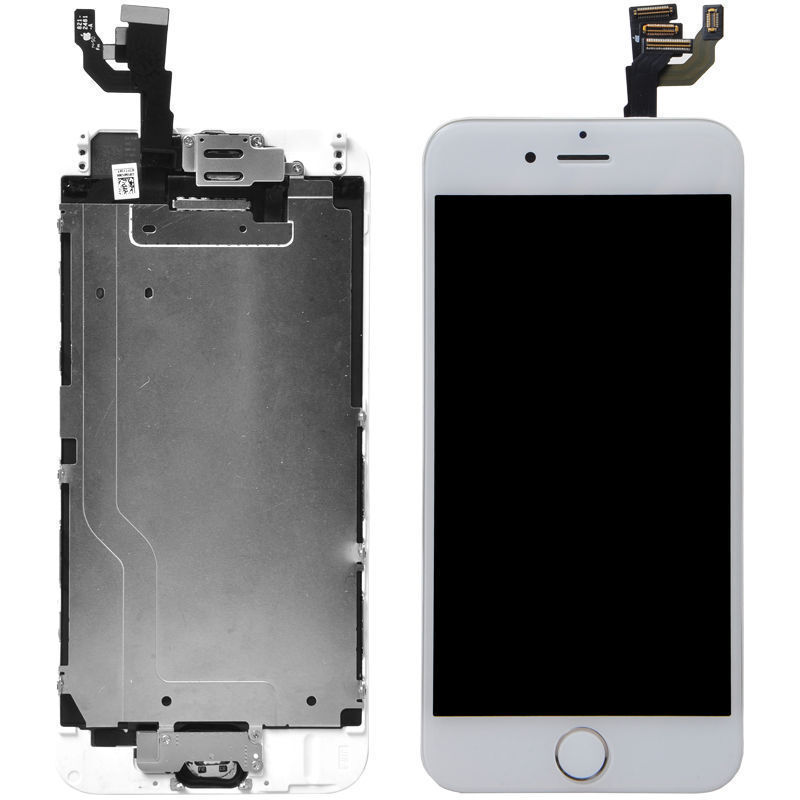 iphone 6 4 7 white lcd lens touch screen display digitizer assembly replacement ebay. Black Bedroom Furniture Sets. Home Design Ideas