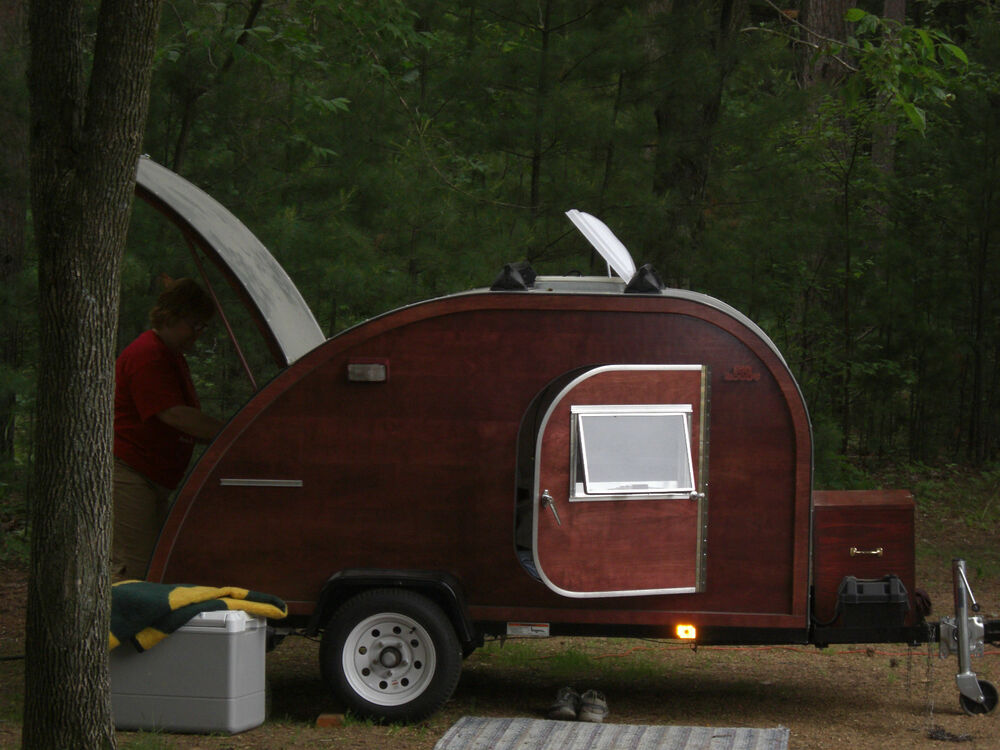 Simple Teardrop Trailer Plans Shoptalk Teardrop Trailer For Two  Old