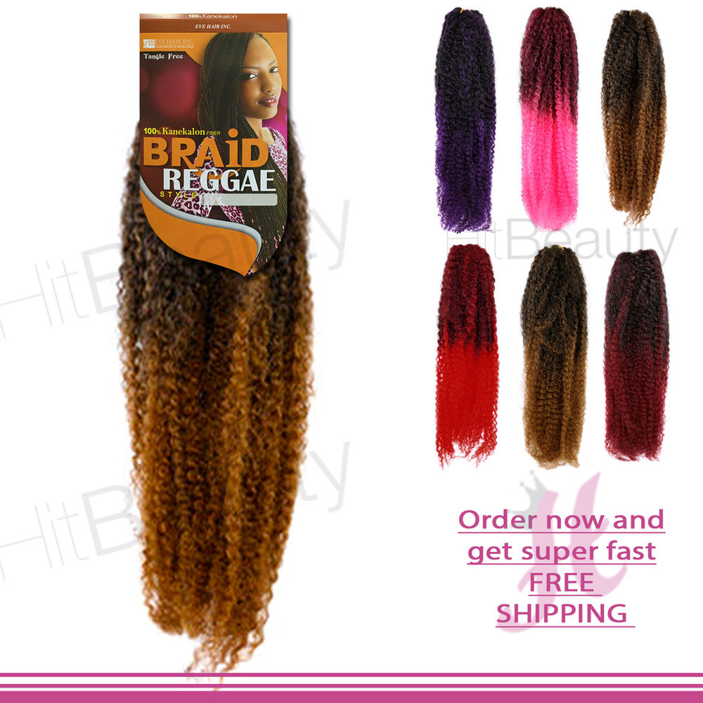 Reggae Braid Best Quality Kinki 100 Kanekalon Fiber Afro