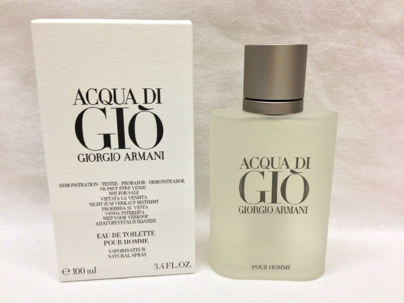 ACQUA DI GIO By GIORGIO ARMANI Cologne For MEN 3.4 OZ edt Spray NEW W/CAP SALE! | eBay
